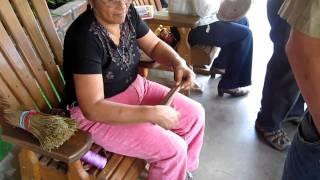 Basket Weaving at the Mennonite Bakery