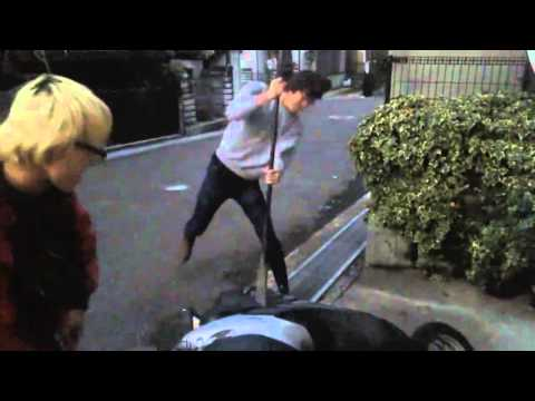 After Japanese Father smashes son's PS3 & PS4 (Revenge)
