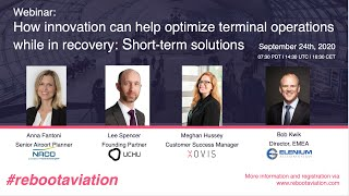 Webinar #5: How Innovation Can Help Optimize Terminal Operations (short-term solutions)