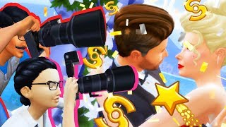 Celebrity Wedding Day GONE WRONG // Get Famous Ep. 21 // The Sims 4 Let's Play