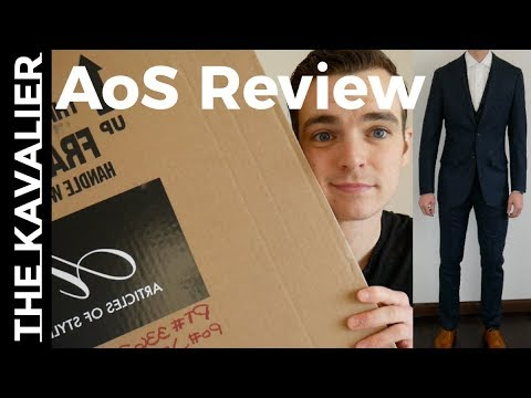 Articles of Style Suit Unboxing and Review of Entire Process