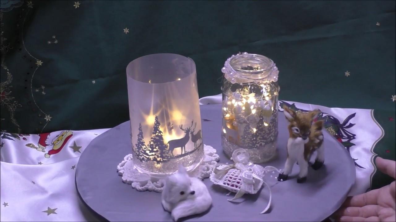 winterliches windlicht aus sternenfolie und papier. Black Bedroom Furniture Sets. Home Design Ideas