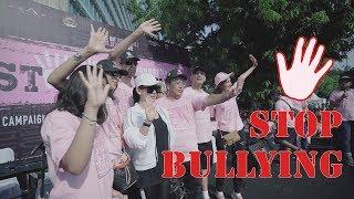 incess dukung stop Bullying di CFD bundaran HI...!!!