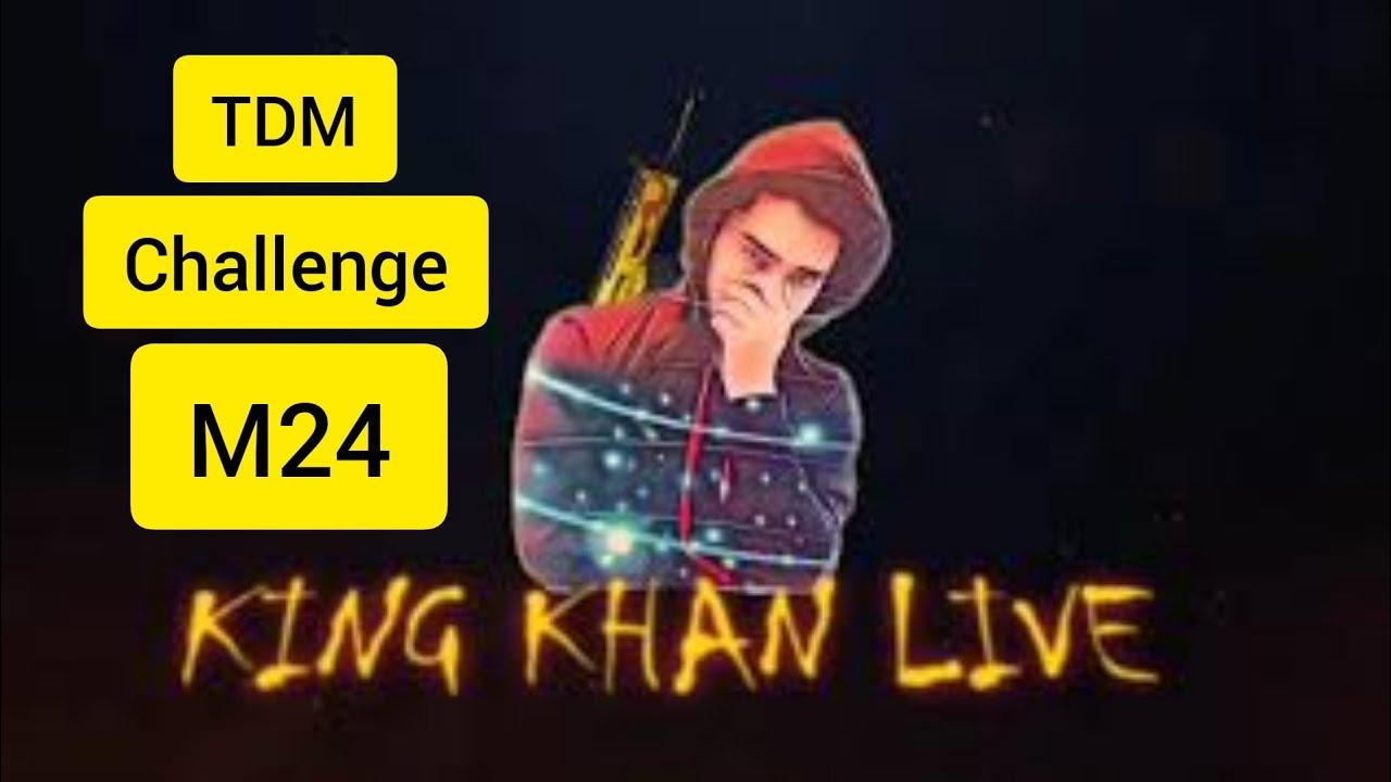 Pubg TDM Match with m24 challenge Friendly Match