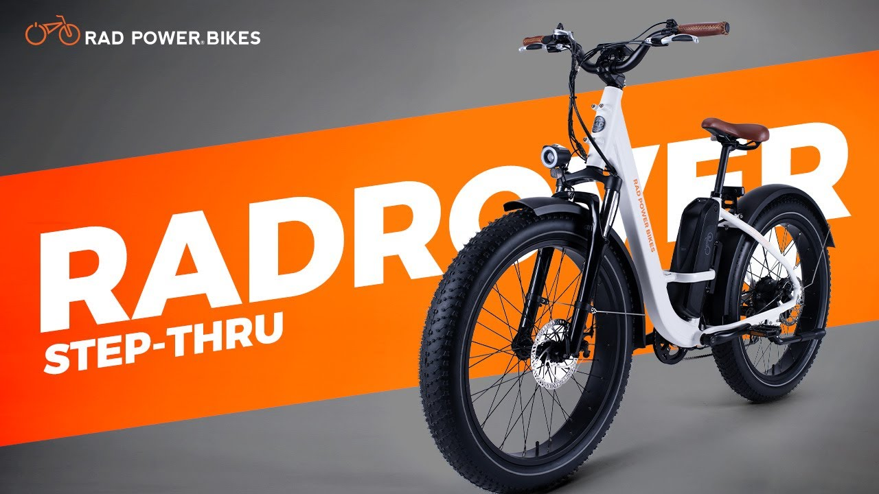 RadRover Step-Thru Electric Fat Bike | Promotional Debut