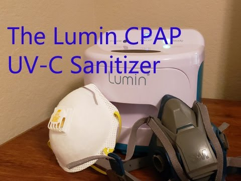 how-to-clean-the-n95-mask-&-3m-half-face-respirator-–-the-lumin-cpap-uv-cleaner-review