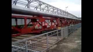 Йошкар-Ола, май 2014. Сторящийся через ж/д пути мост(, 2014-05-17T17:49:18.000Z)