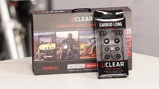 uclear universal ear buds headset kit review at revzilla com