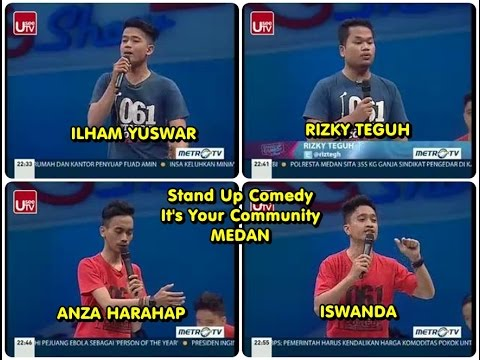 FULL Stand up Comedy Show - It's Your Community Medan - 10 Desember 2014