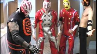 Los Ice Creams, Crossbones, and Rorschach Promo [CHIKARA Young Lions Cup IV]