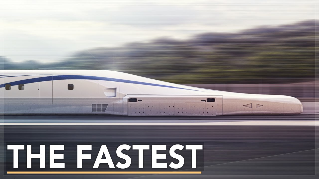 The Fastest Train Ever Built: The SCMaglev