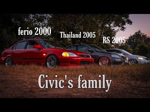 Honda civic thailand model 2005 cinematography