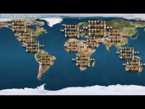 world population death and born live