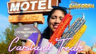 Racing Stripe Churros and More Cars 3 Inspired Treats! Disney California Adventure