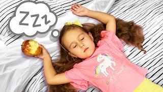 Милана и ее история для детей о спящей красавице