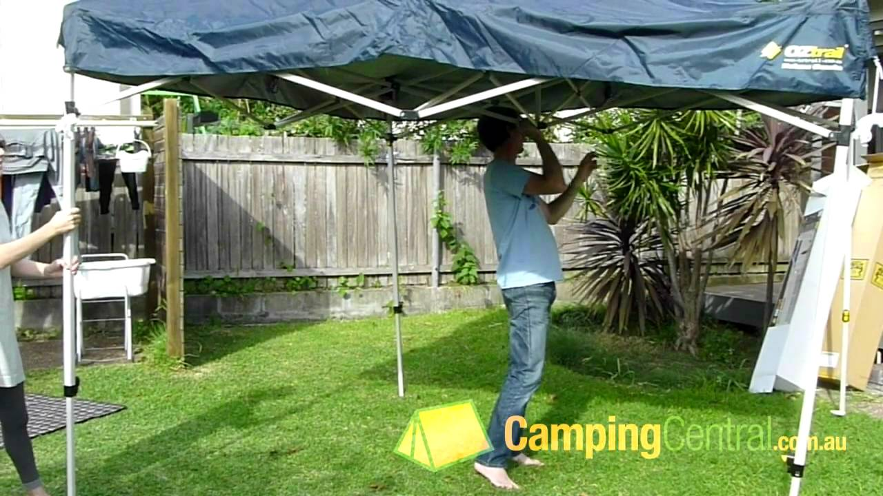 Pop Up Gazebo Bunnings Oztrail Deluxe Gazebo