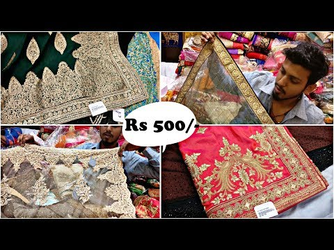 साड़ी ख़रीदे सीधे manufacturer से! Biggest Saree Wholesale Market,Designer saree market | urban hill