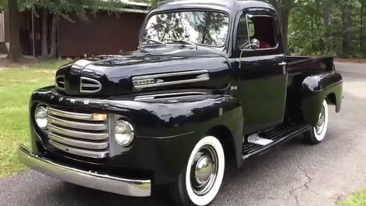 1950 ford f1 pickup truck stunning show room restoration for sale now southern hot rods youtube