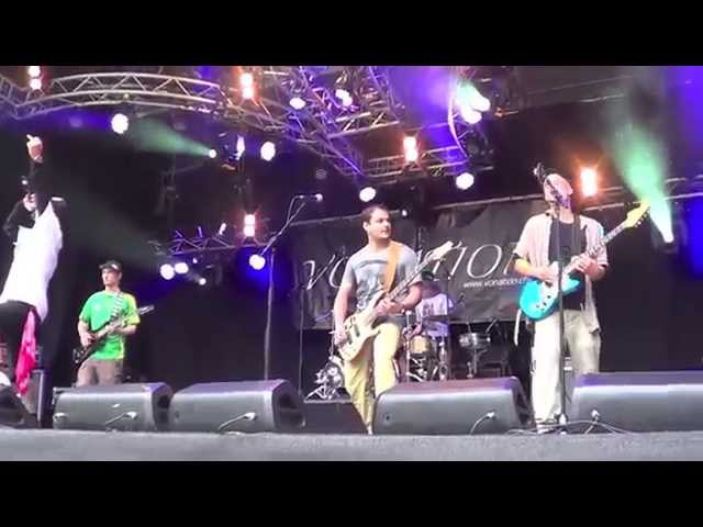 Vonation Live at the Gurten Festival - Killing in the name (RATM)