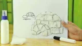 Cotton Igloo: Art and Craft Videos