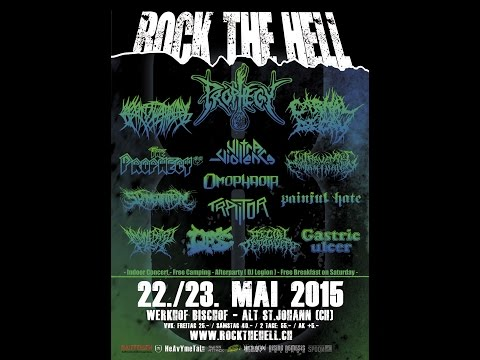 5-23-15 PROPHECY - Rock The Hell Fest - Switzerland! (Cam 1)