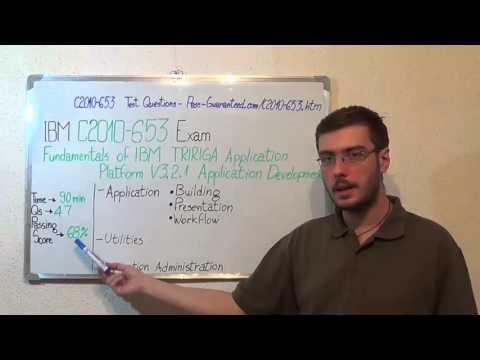 C2010-653 – Fundamentals Exam Of IBM TRIRIGA Test Platform Questions