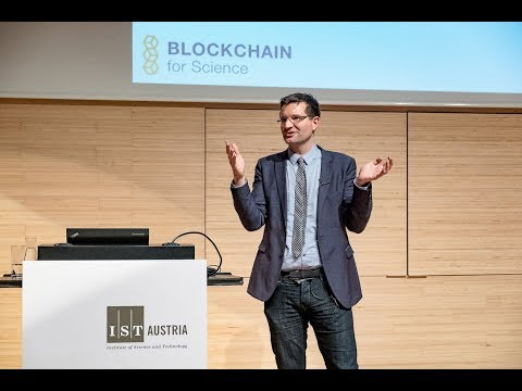 "Lecture: ""Blockchain for Science"" by Sönke Bartling"