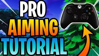 This Is How To Improve Your Aim On Fortnite Console! (Advanced Tutorial)