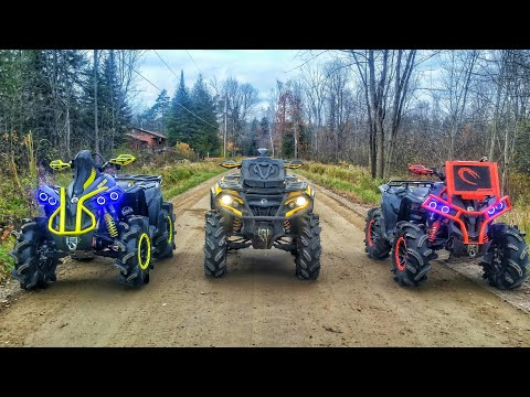 Can Am 1000s on the Path Less Travelled