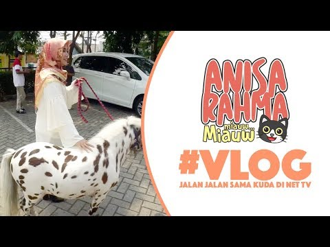 #VLOG 18    JALAN JALAN SAMA KUDA DI NET TV    Anisa Rahma