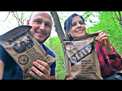 Thumbnail: Testing US Military MRE with Katherine