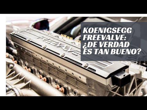 Koenigsegg FREEVALVE: un motor revolucionario