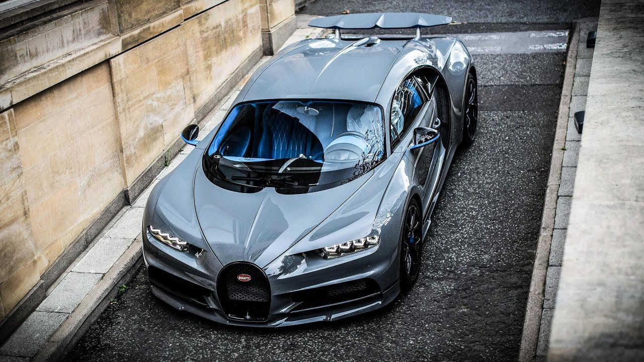 1 of 1 crazy spec bugatti chiron sounds in london! - youtube