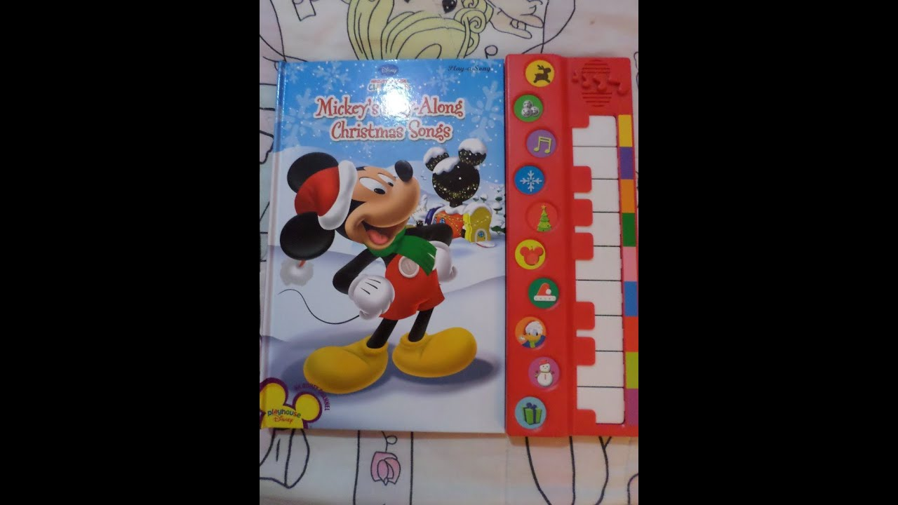 Disney Mickey Mouse Play - Along Christmas Songs Review - YouTube