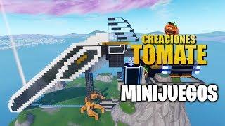 Minijuegos - Creaciones Tomate - Episodio 8