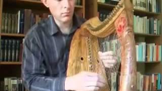 Medieval clarsach - Tristan