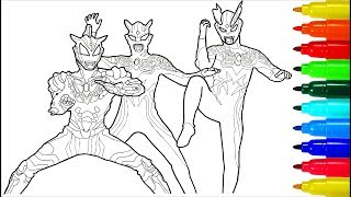 Coloring Ultraman Orb