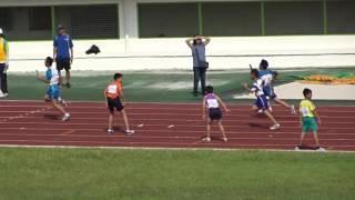 105年市長盃國小田徑錦標賽男童乙組400公尺接力決賽