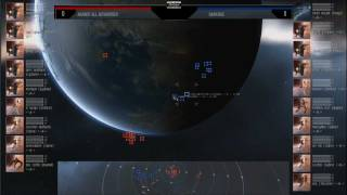 Eve Online - AT9 Day 3 - Against ALL Authorities vs DarkSide.