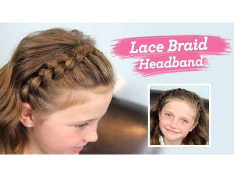 Lace Braid Headband Twins Channel Launched Youtube