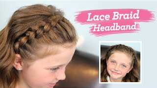 Lace Braid Headband | Twins