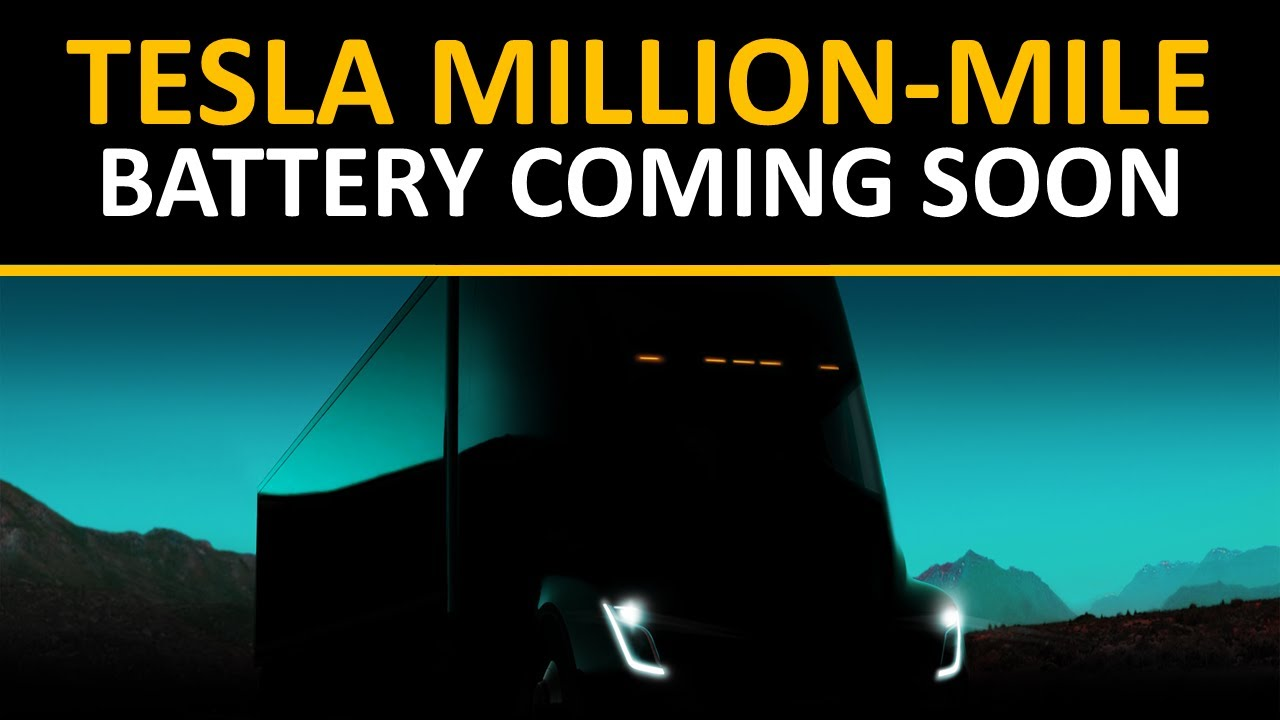 Why Tesla's New Battery Tech is the Key to their Master Plan Part 2 – Tesla Million Mile Battery
