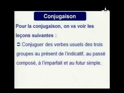 Francais Programme De Francais 6 Eme Primaire