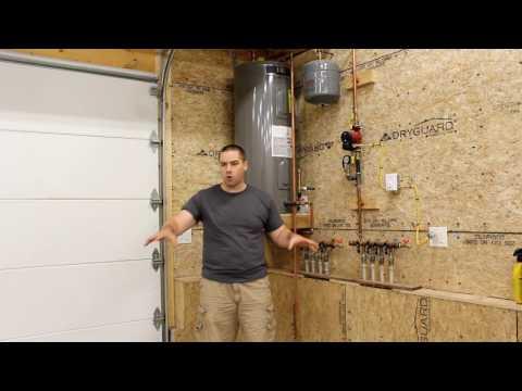 Solar Heated Garage Plan