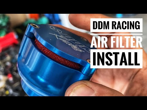 DDM Racing Air Filter INSTALL On My LOSI 5T 2.0 - RC Truck - Smith RC Studios