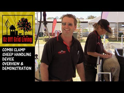 Combi Clamp sheep handling device overview