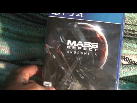 Mass Effect Andromeda (PS4) Unboxing