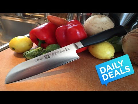 Masterchef Sharpest Santoku Knife Review The Deal Guy Youtube