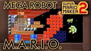 """Super Mario Maker 2 - Great """"Mega Action Robot: M.A.R.I.O."""" Level"""