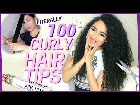 100 Curly Hair Tips - Hair Growth and Curly Hairstyling by Lana Summer